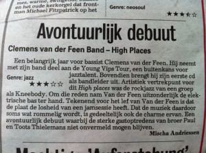 Recensie High places