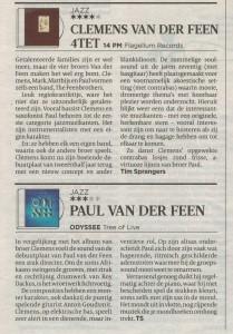 Volkskrant recensies
